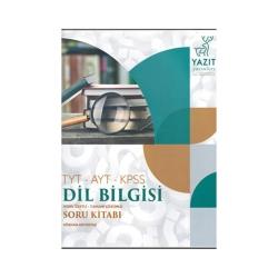Yazıt Yayınları - Yazıt Yayınları TYT AYT KPSS Dil Bilgisi Konu Özetli Tamamı Çözümlü Soru Bankası