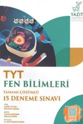 Yazıt Yayınları - Yazıt Yayınları TYT Fen Bilimleri Tamamı Çözümlü 15 Deneme Sınavı