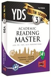 Yargı Yayınları - YDS Academic Reading Master Altın Seri 3 Yargı Yayınları