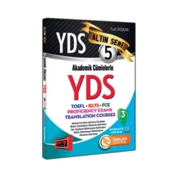 Yargı Yayınevi - Yargı Yayınları YDS Akademik Cümlelerle YDS Altın Seri 5