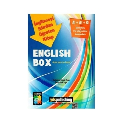 YDS Publishing - Ydspublishing Yayınları English Box İngilizceyi Sıfırdan Öğreten Kitap
