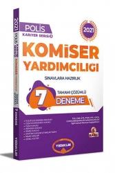 Yediiklim Yayınları - Yediiklim Yayınları 2021 Komiser Yardımcılığı Sınavlarına Hazırlık Tamamı Çözümlü 7 Deneme