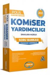 Yediiklim Yayınları - Yediiklim Yayınları 2021 Komiser Yardımcılığı Sınavlarına Hazırlık Tamamı Çözümlü Soru Bankası