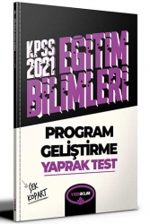 Yediiklim Yayınları - Yediiklim Yayınları 2021 KPSS Eğitim Bilimleri Program Geliştirme Çek Kopart Yaprak Test