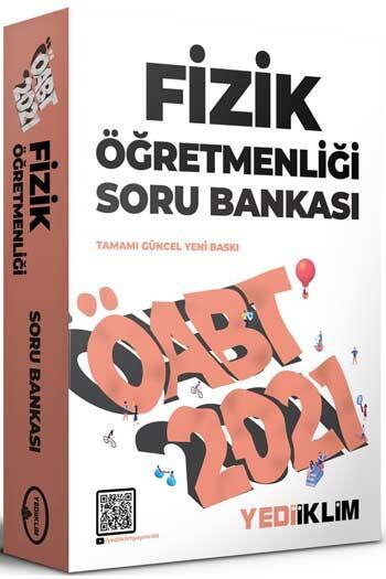 Yediiklim Yayınları - Yediiklim Yayınları 2021 ÖABT Fizik Öğretmenliği Soru Bankası