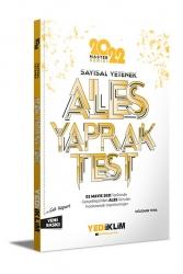 Yediiklim Yayınları - Yediiklim Yayınları 2022 Ales Sayısal Yetenek Çek Kopart Yaprak Test