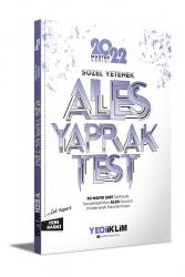 Yediiklim Yayınları - Yediiklim Yayınları 2022 Ales Sözel Yetenek Çek Kopart Yaprak Test
