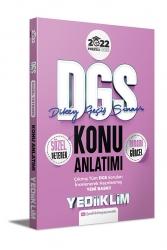 Yediiklim Yayınları - Yediiklim Yayınları 2022 DGS Sözel Yetenek Konu Anlatımı
