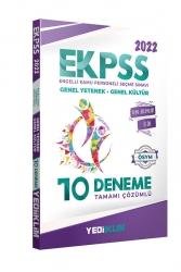 Yediiklim Yayınları - Yediiklim Yayınları 2022 EKPSS Tüm Adaylar Tamamı Çözümlü 10 Deneme