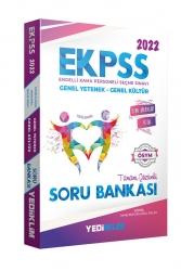 Yediiklim Yayınları - Yediiklim Yayınları 2022 EKPSS Tüm Adaylar Tamamı Çözümlü Soru Bankası