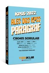 Yediiklim Yayınları - Yediiklim Yayınları 2022 KPSS ALES DGS Paragraf Çıkmış Sorular