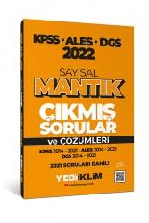 Yediiklim Yayınları - Yediiklim Yayınları 2022 KPSS ALES DGS Sayısal Mantık Tamamı Çözümlü Çıkmış Sorular