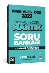 Yediiklim Yayınları - Yediiklim Yayınları 2022 KPSS ALES DGS Sayısal Sözel Mantık Tamamı Çözümlü Soru Bankası