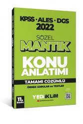 Yediiklim Yayınları - Yediiklim Yayınları 2022 KPSS ALES DGS Sözel Mantık Konu Anlatımı