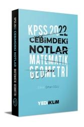 Yediiklim Yayınları - Yediiklim Yayınları 2022 KPSS Cebimdeki Notlar Matematik-Geometri Kitapçığı