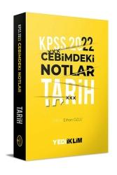Yediiklim Yayınları - Yediiklim Yayınları 2022 KPSS Cebimdeki Notlar Tarih Kitapçığı