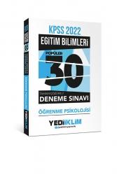 Yediiklim Yayınları - Yediiklim Yayınları 2022 KPSS Eğitim Bilimleri Öğrenme Psikolojisi Tamamı Çözümlü 30 Popüler Deneme
