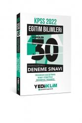 Yediiklim Yayınları - Yediiklim Yayınları 2022 KPSS Eğitim Bilimleri Program Geliştirme-Sınıf Yönetimi-Materyal Tasarımı Tamamı Çözümlü 30 Popüler Deneme