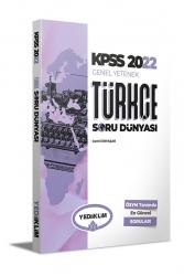 Yediiklim Yayınları - Yediiklim Yayınları 2022 KPSS Genel Yetenek Türkçe Soru Dünyası