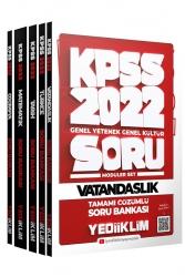 Yediiklim Yayınları - Yediiklim Yayınları 2022 KPSS GY GK Tamamı Çözümlü Modüler Soru Bankası