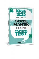 Yediiklim Yayınları - Yediiklim Yayınları 2022 KPSS Sözel Mantık Çek Kopart Yaprak Test