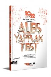 Yediiklim Yayınları - Yediiklim Yayınları 2022 Master Serisi Ales Sayısal Sözel Yetenek Çek Kopart Yaprak Test