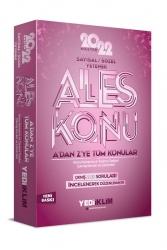 Yediiklim Yayınları - Yediiklim Yayınları 2022 Master Serisi ALES Sayısal- Sözel Yetenek Konu Anlatımı