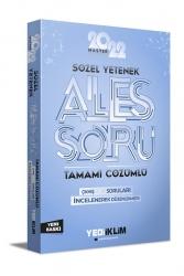 Yediiklim Yayınları - Yediiklim Yayınları 2022 Master Serisi Ales Sözel Yetenek Tamamı Çözümlü Soru Bankası
