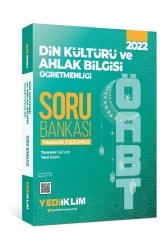 Yediiklim Yayınları - Yediiklim Yayınları 2022 ÖABT Din Kültürü ve Ahlak Bilgisi Öğretmenliği Tamamı Çözümlü Soru Bankası