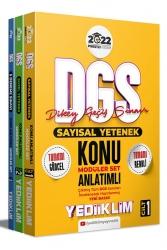 Yediiklim Yayınları - Yediiklim Yayınları 2022 Prestij Serisi DGS Konu Anlatımlı Modüler Set 3 Cilt