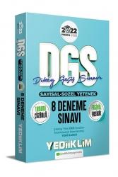 Yediiklim Yayınları - Yediiklim Yayınları 2022 Prestij Serisi DGS Tamamı Çözümlü 8 Fasikül Deneme