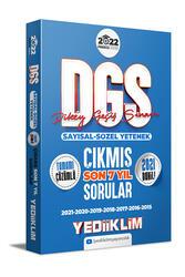 Yediiklim Yayınları - Yediiklim Yayınları 2022 Prestij Serisi DGS Tamamı Çözümlü Son 7 Yıl Çıkmış Sorular