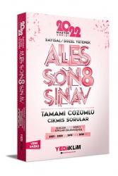 Yediiklim Yayınları - Yediiklim Yayınları Ales Sayısal Sözel Yetenek Tamamı Çözümlü Son 8 Sınav Çıkmış Sorular