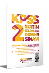 Yediiklim Yayınları - Yediiklim Yayınları Atölye Serisi KPSS Eğitim Bilimleri 2 Deneme Sınavı
