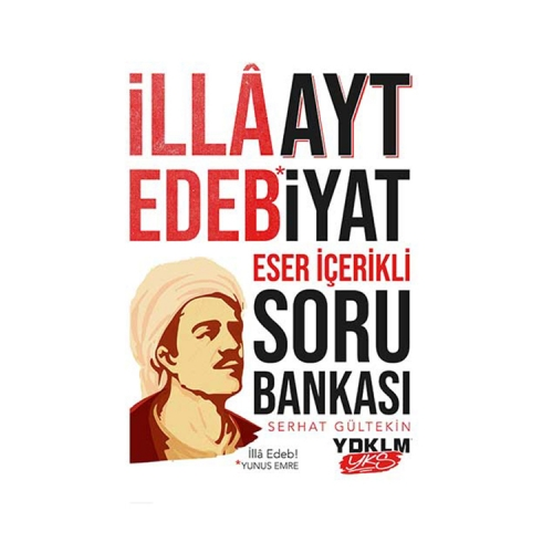 Yediiklim Yayınları AYT Edebiyat Eser İçerikli Soru Bankası
