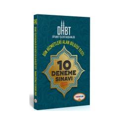 Yediiklim Yayınları - Yediiklim Yayınları DHBT Diyanet İşleri Başkanlığı Din Hizmetleri Alan Bilgisi Tamamı Çözümlü 10 Deneme Sınavı