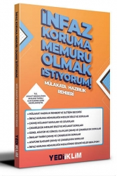 Yediiklim Yayınları - Yediiklim Yayınları İnfaz Koruma Memuru Olmak İstiyorum Mülakat Hazırlık Rehberi