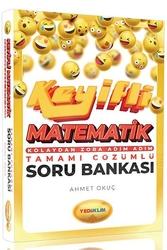 Yediiklim Yayınları - Yediiklim Yayınları Keyifli Matematik Kolaydan Zora Tamamı Çözümlü Soru Bankası