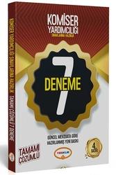Yediiklim Yayınları - Yediiklim Yayınları Komiser Yardımcılığı Sınavlarına Hazırlık Tamamı Çözümlü 7 Deneme 4. Baskı