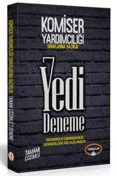Yediiklim Yayınları - Yediiklim Yayınları Komiser Yardımcılığı Sınavlarına Hazırlık Tamamı Çözümlü 7 Deneme Güncellenmiş Baskı