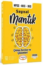 Yediiklim Yayınları - Yediiklim Yayınları KPSS ALES DGS Sayısal Mantık Çıkmış Sorular ve Çözümleri