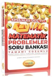 Yediiklim Yayınları - Yediiklim Yayınları KPSS ALES DGS TYT Keyifli Matematik Problemler Tamamı Çözümlü Soru Bankası