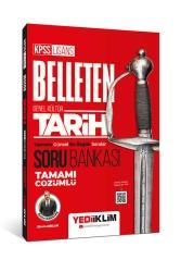 Yediiklim Yayınları - Yediiklim Yayınları KPSS Genel Kültür Belleten Tarih Tamamı Çözümlü Soru Bankası