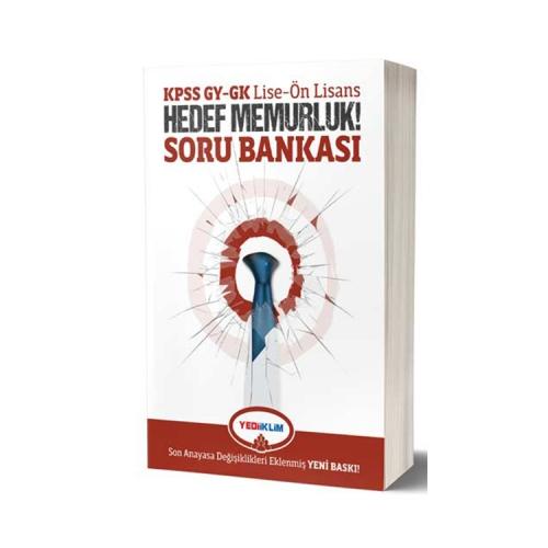 Yediiklim Yayınları KPSS Lise-Ön Lisans GY-GK Hedef Memurluk Soru Bankası