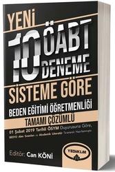 Yediiklim Yayınları - Yediiklim Yayınları ÖABT Beden Eğitimi Öğretmenliği Tamamı Çözümlü 10 Deneme