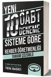 Yediiklim Yayınları - Yediiklim Yayınları ÖABT Rehber Öğretmenliği Tamamı Çözümlü 10 Deneme