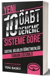 Yediiklim Yayınları - Yediiklim Yayınları ÖABT Sosyal Bilgiler Öğretmenliği Tamamı Çözümlü 10 Deneme