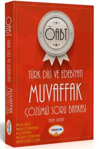 Yediiklim Yayınları ÖABT Türk Dili ve Edebiyatı Öğretmenliği Muvaffak Çözümlü Soru Bankası