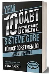 Yediiklim Yayınları - Yediiklim Yayınları ÖABT Türkçe Öğretmenliği Tamamı Çözümlü 10 Deneme