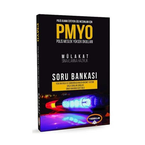 Yediiklim Yayınları PMYO Mülakat Sınavlarına Hazırlık Soru Bankası